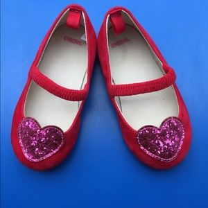 Valentine's Day toddler shoes